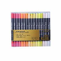 Набор двухсторонних акварельных маркеров STA 48 цветов (B141219)