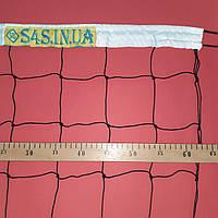 Сетка волейбольная «ЭКОНОМ 10» черно-белая, фото 1