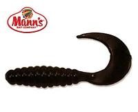 Силиконовая приманка Manns Twister 038 M-038 B черный 70мм