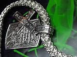 Срібна ланцюжок з жетоном, фото 5