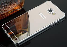 Чехол бампер для Samsung Galaxy A6 A600 зеркальный