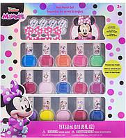 Детский лак для ногтей Минни Маус 15 штук и разделитель для пальцев TownleyGirl Disney Minnie Mouse