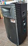 Потужна акумуляторна колонка HAMERSH (Temeisheng) 1521 з мікрофонами 500W (USB/Bluetooth/Пульт ДУ), фото 2