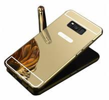 Чехол бампер для Samsung Galaxy Note 5 N920 зеркальный