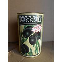 Маслины черные без косточки Испания 3,1 кг