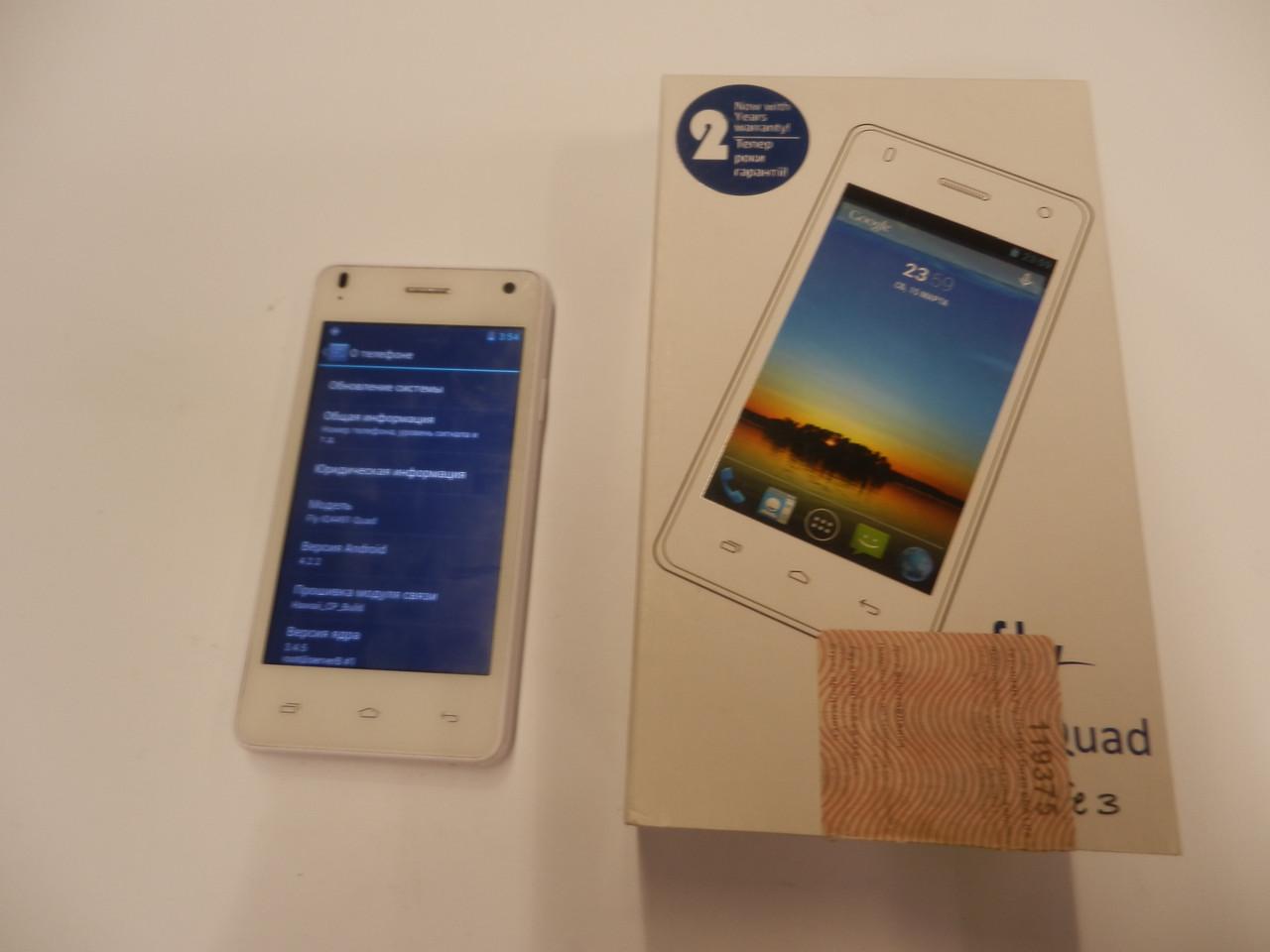 Мобильный телефон  Fly IQ4491 Quad ERA Life 3 364ВР