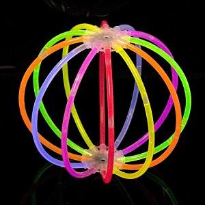 Сфера неоновая glow stick ball