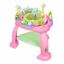 """Hola Toys Игровой развивающий центр """"Музыкальный стульчик"""", голубой 696-Blue Pink"""