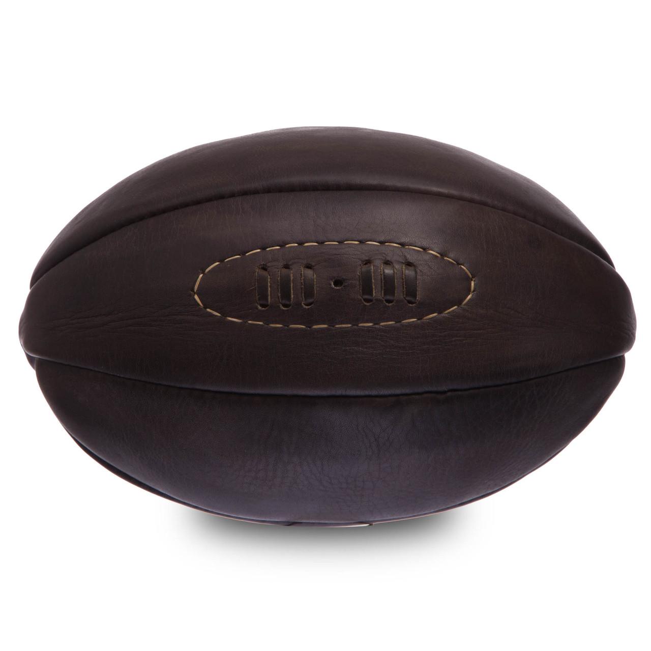 Мяч для регби кожаный VINTAGE F-0267