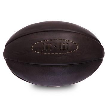 Мяч для регби кожаный VINTAGE F-0267, фото 2