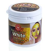 Золотая маска-плёнка для лица (отбеливающая, очищающая) 24K Gold 150ml