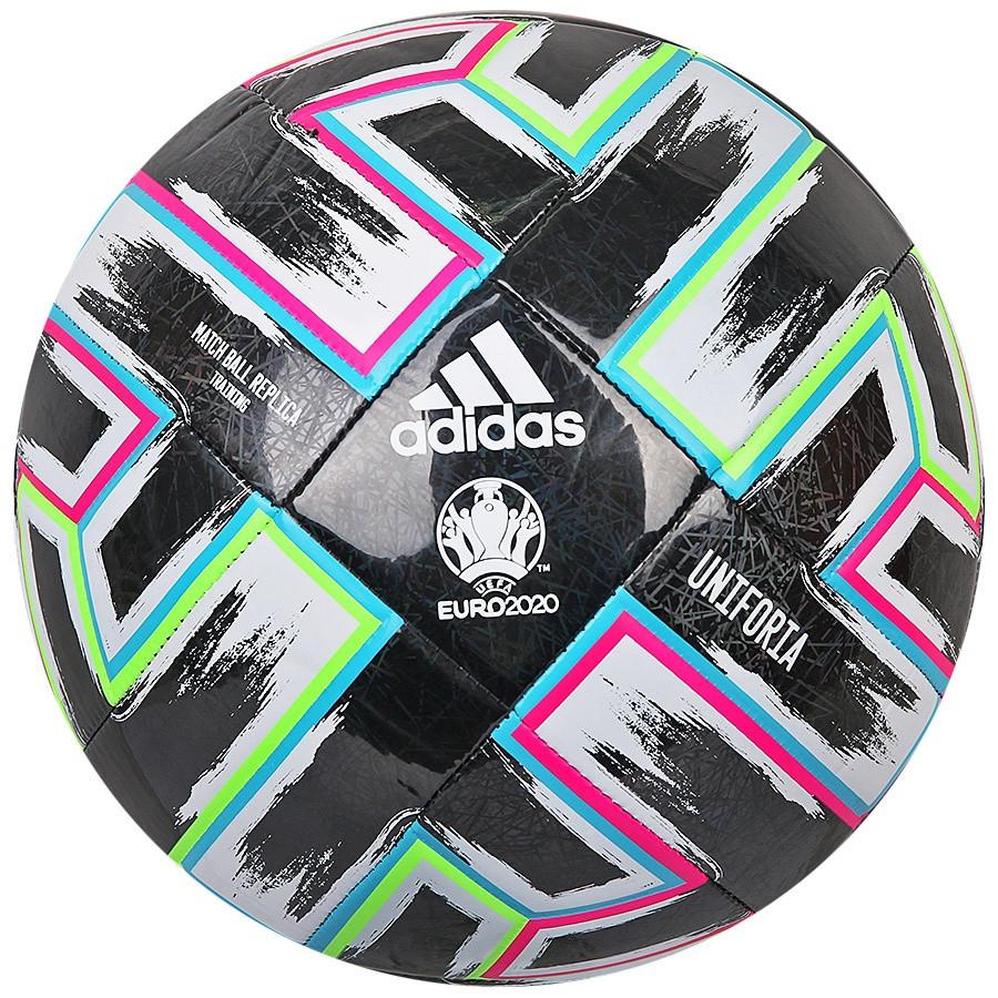 Мяч футбольный Adidas Uniforia Training Ball Euro 2020 №5 FP9745 Черный