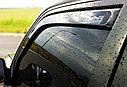 Ветровики вставные для SKODA SUPERB SEDAN 2008->, фото 5