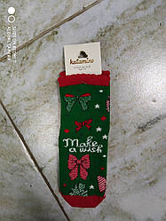Детские новогодние носки на девочку  фирма Katamino