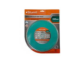 Диск алмазный Turbo Wave 230x22 мм Sturm 5170305