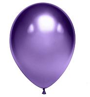 Латексні кулі 12' хром Tofo Китай фіолетовий, (30 см) 10 шт