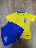 Форма футбольная детская Brasil.