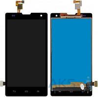 Дисплей (экраны) для телефона Huawei Honor 3C H30-U10 + Touchscreen Black