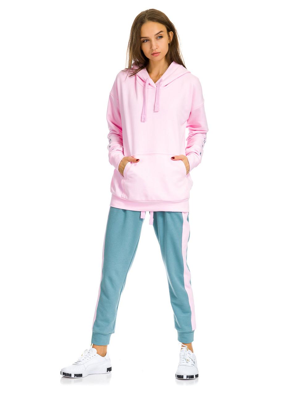 Худи женское Tenth  розового цвета