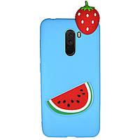 Чехол Cartoon 3D Case для Xiaomi Pocophone F1 Арбуз