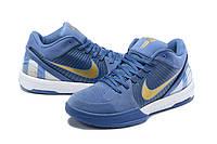 Мужские Баскетбольные кроссовки Nike Kobe 4 Pronto(Blue), фото 1