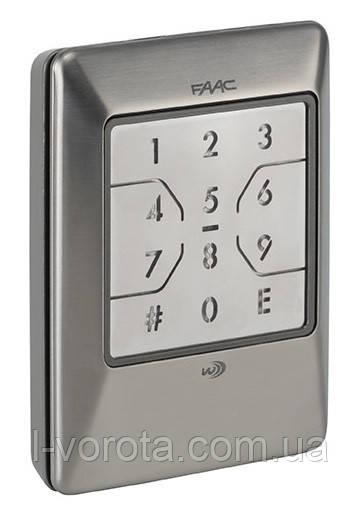 FAAC XKP W 868 INOX беспроводная кодовая клавиатура