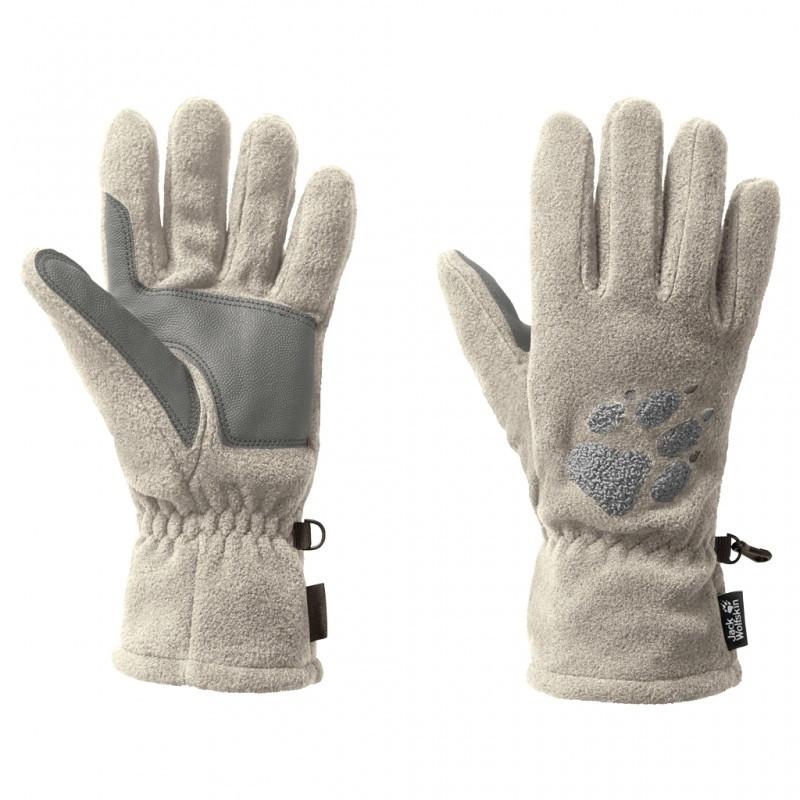 Перчатки флисовые Jack Wolfskin Paw Gloves