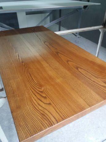 Деревянная столешница из дерева массив ясеня для стола в ресторан и кафе