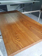 Деревянная столешница из дерева массив ясеня для стола в ресторан и кафе, фото 1