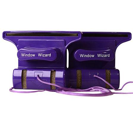 Магнитная щетка для мытья окон с двух сторон Window Wizard, фото 2