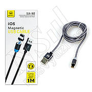 Кабель USB-Lightning MIMACRO SJX-182 магнитный