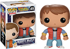 Фигурка Funko Pop Фанко Поп Назад в будущее Марти Макфлай Back To The Future Marty McFly 10 см Movies BF MM 49