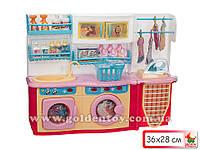 "Мебель для куклы ""Маша и медведь"", ванная комната, свет, звук"