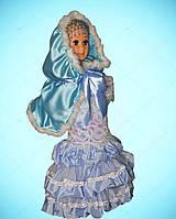 Герда,  Снегурочка, Зимняя принцесса, 122-134 см. Новогодние костюмы, Детские карнавальные костюмы