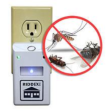 Електромагнітний відлякувач гризунів та комах Рідекс (Riddex Plus Pest Repeller) RR-214 (1669) 5517