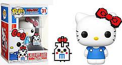 Фигурка Funko Pop Фанко Поп Привет, киска Киса 8-бит Hello Kitty Kitty 8-bit 10 см Cartoon HK K 31