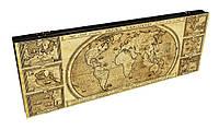 Нарды Карта Мира оригинальный эксклюзивный подарок