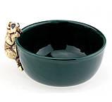 Миска из керамики Любопытный енот, фото 4
