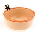 Миска из керамики Любопытный енот, фото 6