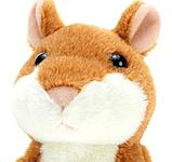 Говорящий хомяк-повторюшка Woody O'Time коричневый, фото 3