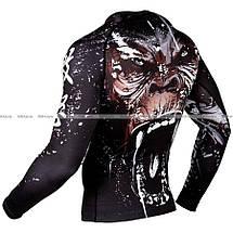Рашгард Venum Gorilla Rashguard Long Sleeves Black, фото 3