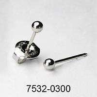Studex SYSTEM 75 серьги-иглы 7532-0300 шарик