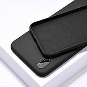 Силиконовый чехол SLIM на Xiaomi Mi 9 Lite / Mi CC9 Black