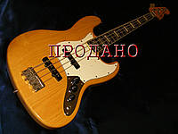 Бас-гитара Fender jazz bass 75' reissue Ash natural Japan