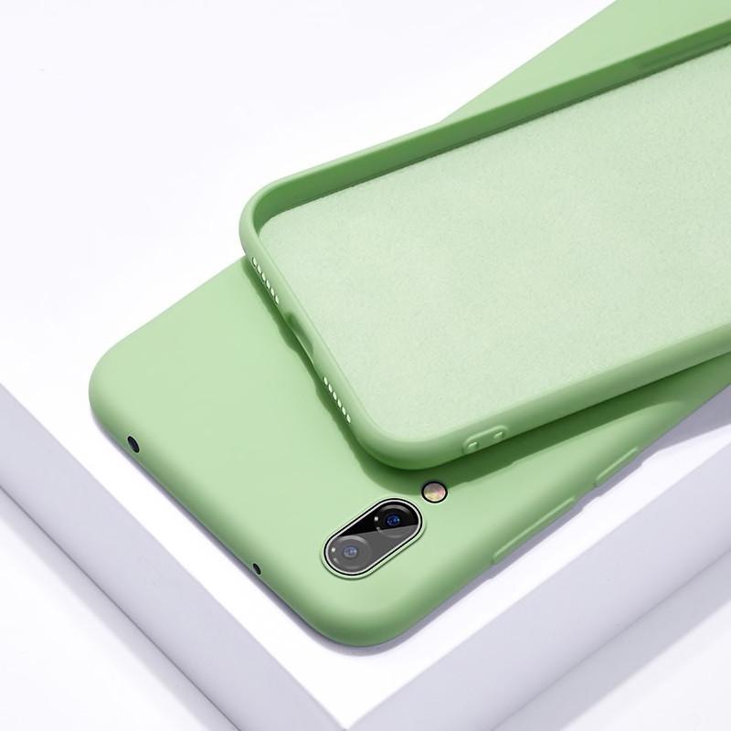 Силиконовый чехол SLIM на Xiaomi Mi 9 Lite / Mi CC9 Mint
