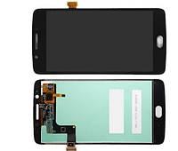 Дисплей модуль Motorola Moto G5 XT1676, XT1672 в зборі з тачскріном, чорний