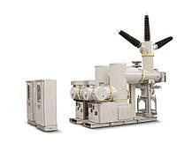 Комплектное распределительное устройство в элегазовый изоляции КРУЭ до 362кВ LG Ю. Корея
