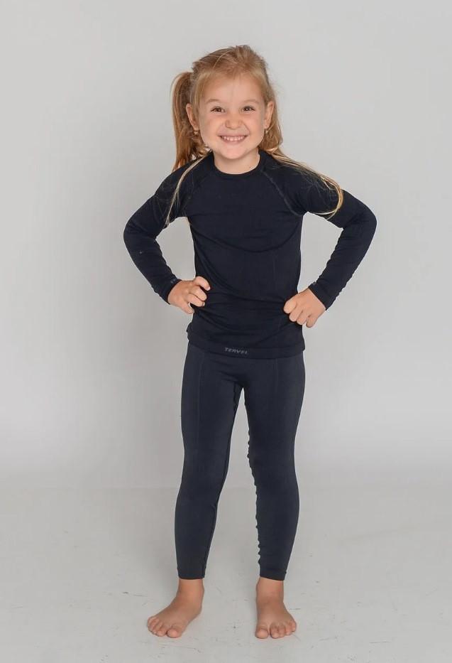 Термобелье детское спортивное зональное бесшовное Tervel Comfortline (original), профессиональное, комплект