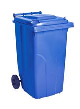 Бак для мусора на колесах с ручкой 240 л
