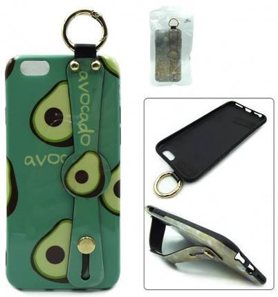 Luxury силиконовая накладка для Apple iPhone 7 Plus Avocado (с рисунком), фото 2